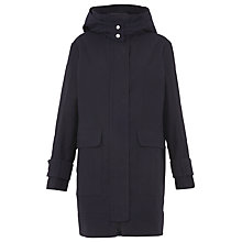 Buy Whistles Willow Casual Coat, Navy Online at johnlewis.com