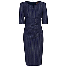 Buy Jolie Moi Floral Half Sleeve Striped Shift Dress Online at johnlewis.com