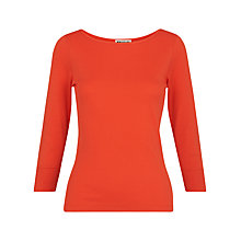 Buy Whistles Cotton Blend Top Online at johnlewis.com