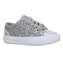 Buy Mini Miss KG Children's Mini Lucca Trainers, Grey Online at johnlewis.com