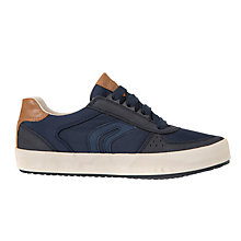Buy Geox Children's Alonisso Lace Up Sports Shoes, Navy Online at johnlewis.com