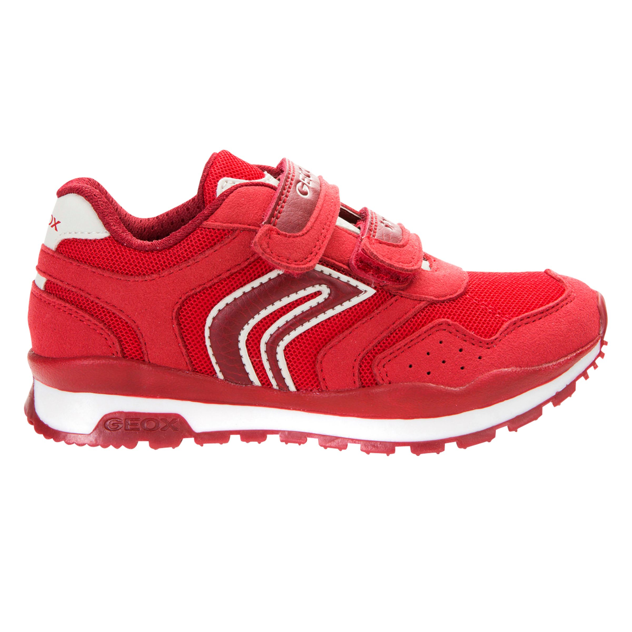 Geox Geox Children's Pavel Suede Riptape Trainers