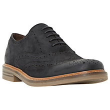 Buy Dune Brindle Burnished Detail Leather Brogues Online at johnlewis.com