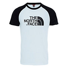Buy The North Face Easy Short Sleeve T-Shirt, White/Black Online at johnlewis.com