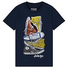 Buy Converse Boys' Stacked Sneakers Remix T-Shirt Online at johnlewis.com