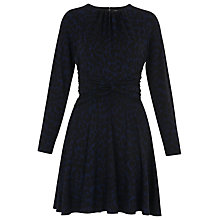 Buy Whistles Celestine Jersey Dress, Blue/Multi Online at johnlewis.com