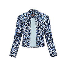Buy Jolie Moi Light Jacket, Leopard Print/Grey Online at johnlewis.com