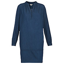 Buy Whistles Jocelyn Shirt Dress, Dark Denim Online at johnlewis.com