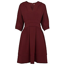 Buy Whistles Eliza Pom Pom Trim Dress Online at johnlewis.com