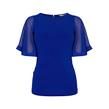 Buy Coast Ruthie Top, Cobalt Blue Online at johnlewis.com