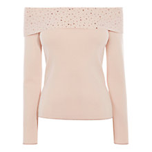 Buy Coast Fontana Bardot Knit Top Online at johnlewis.com