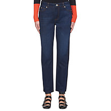Buy Whistles Side Panel Boyfriend Jeans, Denim Online at johnlewis.com