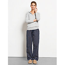 Buy hush Daisy Pyjama Bottoms, Midnight/White/Rococco Red Online at johnlewis.com