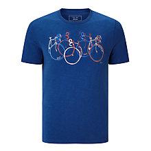 Buy John Lewis Eat Sleep Bike Repeat T-Shirt Online at johnlewis.com