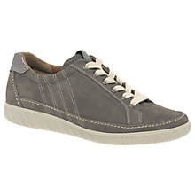 Buy Gabor Amulet Wide Lace Up Trainers, Fumo Online at johnlewis.com