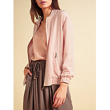 Buy Modern Rarity Silk Bomber Jacket Online at johnlewis.com