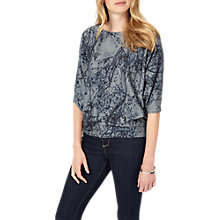 Buy Phase Eight Franca Delicate Floral Jumper, Ink Online at johnlewis.com