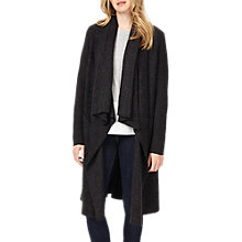 Buy Phase Eight Shontae Knitted Coat, Charcoal Marl Online at johnlewis.com