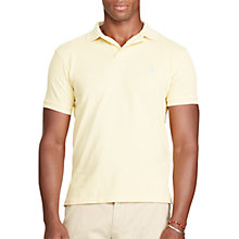 Buy Polo Ralph Lauren Slim Fit Weathered Mesh Polo Shirt Online at johnlewis.com