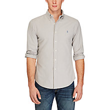 Buy Polo Ralph Lauren Slim Fit Cotton Poplin Shirt Online at johnlewis.com