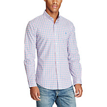 Buy Polo Ralph Lauren Slim Fit Button Down Pin Point Collar Sport Shirt Online at johnlewis.com