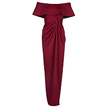 Buy Yanny London Off The Shoulder Knotted Dress Online at johnlewis.com