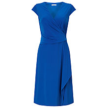 Buy Jacques Vert Petite Lace Shift Dress, Purple Online at johnlewis.com
