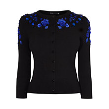 Buy Karen Millen Applique Floral Cardigan Online at johnlewis.com