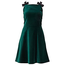 Buy Ted Baker Louweez Velvet Skater Dress Online at johnlewis.com