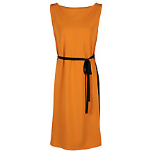 Buy Yanny London Crepe Sleeveless Georgette Dress, Mango Online at johnlewis.com