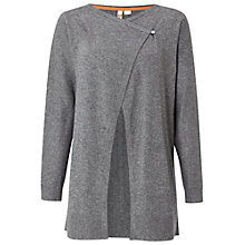 Buy White Stuff Baklava Cardigan, Mineral Grey Online at johnlewis.com