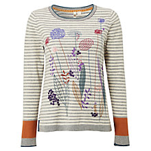 Buy White Stuff Fennel Embroidered Jumper, Multi Online at johnlewis.com