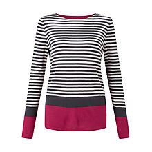 Buy Jigsaw Colour Block Stripe Jumper Online at johnlewis.com