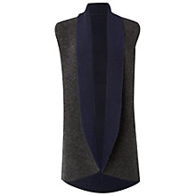 Buy White Stuff Book End Reversible Cardigan, Navy Online at johnlewis.com