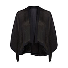 Buy Coast Francille Sparkle Kimono, Black Online at johnlewis.com