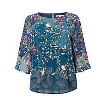 Buy White Stuff Venus Top, Cavolo Teal Online at johnlewis.com