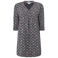 Buy White Stuff Fan Print Jersey Tunic, Multi Online at johnlewis.com