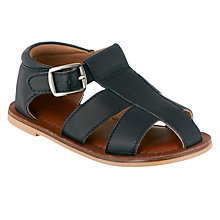 Buy John Lewis Children's Noah Sandals, Navy Online at johnlewis.com