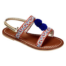 Buy John Lewis Children's Lulu Pompom Sandals Online at johnlewis.com