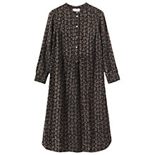Buy Toast Anjar Paisley Print Dress, Charcoal/Biscuit Online at johnlewis.com