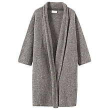 Buy Toast Boiled Wool Mouline Coat, Natural Online at johnlewis.com