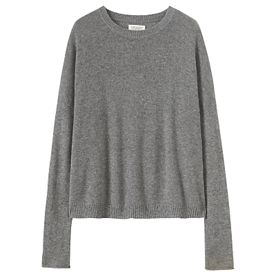 Toast Boxy Wool Cashmere Jumper, Flannel Grey