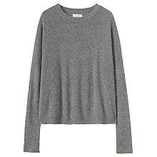 Buy Toast Boxy Wool Cashmere Jumper, Flannel Grey Online at johnlewis.com
