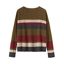 Buy Toast Stripe Gauzy Jumper, Multi Online at johnlewis.com