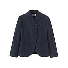 Buy Toast Wool Cotton Flannel Jacket, Navy Online at johnlewis.com