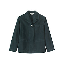 Buy Toast Moleskin Workwear Jacket, Blue Slate Online at johnlewis.com