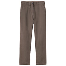 Buy Toast Stretch Cotton Twill Trousers, Mink Online at johnlewis.com