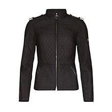 Buy Barbour International Folco Extractor Quilted Jacket, Black Online at johnlewis.com