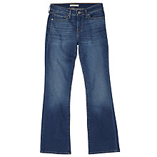 Buy Levi's 715 Mid Rise Bootcut Jeans, Airwaves Online at johnlewis.com