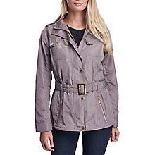 Buy Barbour International Swingarm Casual Jacket, Taupe Online at johnlewis.com